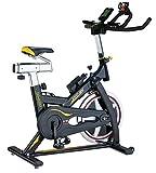 Body Sculpture BC4626 Pro Racing Studio Exercise Bike | 13KG Flywheel | 2 Way Gears | Adjustable Resistance | Punch Brake System | Smartphone Dock | Track Your Progress | More