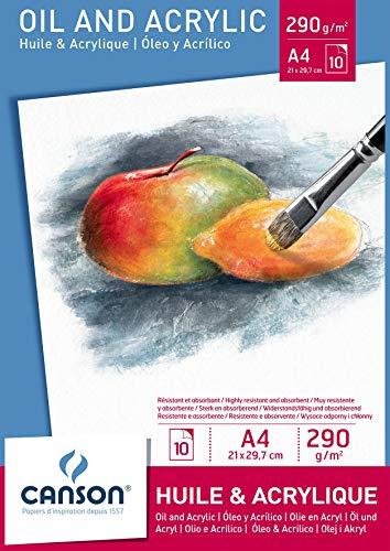 Canson 200005785 carta da disegno, 10 pagine