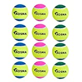 Kosma 12 Tennis Ball - (4 PC-Gelb/Grün, 4 PC-Gelb/Blau, 4 PC-Gelb/Magenta, 12)