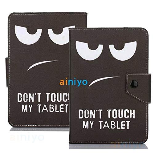 ghn Funda universal para tablet de 9,7 a 10 y 10,1 pulgadas, funda de piel sintética magnética para Asus Samsung Huawei T5 M5 Lenovo TAB E10 P10 (color: patrón 5)