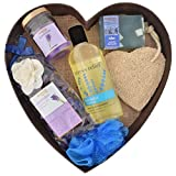 BodyHerbals Lavender Surprise Bathing Set For Ultimate Spa Experience
