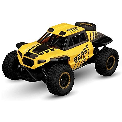 ksovvoo RC Buggy 4WD High-Speed RC-Fahrzeug 2.4G USB-Ladung Monster Offroad-Auto 1/14 Fernbedienung Spielzeugauto LED-Licht Anti-Skid-verschleißfestes Reifen Off-Road-Trucks