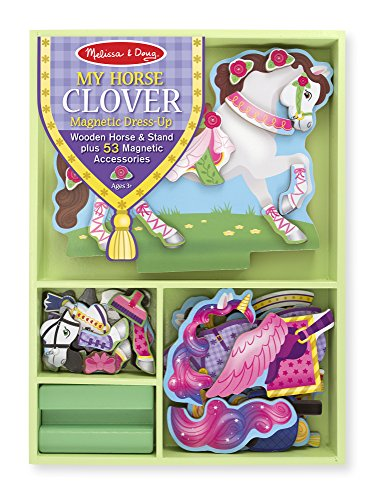 My Horse Clover Magnetic Dress Up: My Horse Clover Magnetic Dress Up