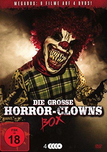 Die große Horror-Clowns Deluxe Mega-Box (4 DVDs)