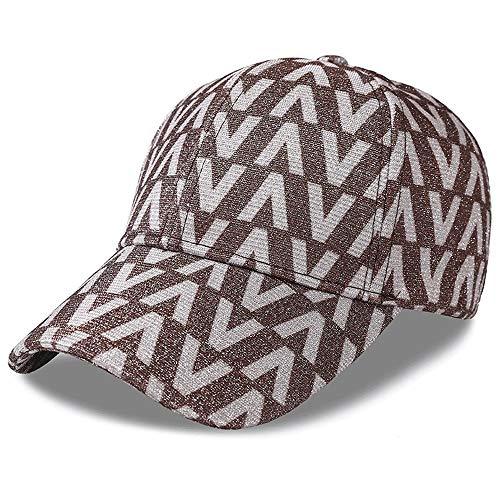 LDDENDP Gorra de béisbol tipo V Sombrero de sol ajustable de color sólido para montar a caballo, excursionismo u otras actividades al aire libre Gorra de béisbol para mujeres, sombrero para el sol, so