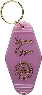 Sigma Kappa Vintage Motel Keychain