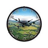 B-17 Flying Fortress Backlit Wall Clock