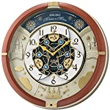 Seiko Castle Night Melodies in Motion Musical Wall Clock, Multi