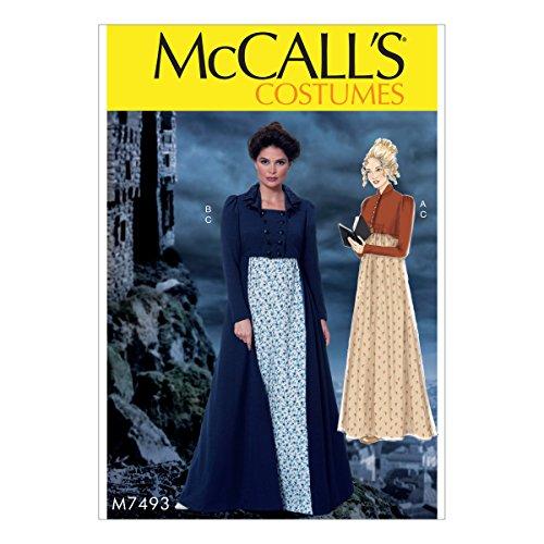 McCall 's Patterns Schnittmuster Kostüme, Mehrfarbig, Größen 14–22-p, Mehrfarbig, 152 x 213 cm