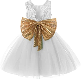 0-12 Years Baby Flower Girl Dress Wedding