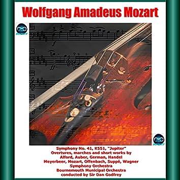 "Mozart: Symphony No. 41, ""Jupiter""- Overtures, marches and short works by Alford, Auber, German, Handel, Meyerbeer, Mozart, Offenbach, Suppé, Wagner"