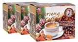Coffee Mixed Herbal Morseng Brand Formular2 (12 Sachets) 3 Pack.(Thaiqherb)