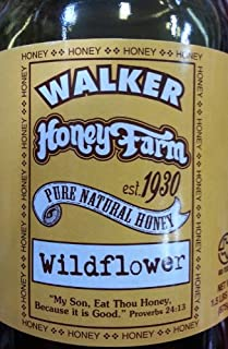 Walker Honey Farm Wildflower Honey 1.5 Lb (Pack of 1)