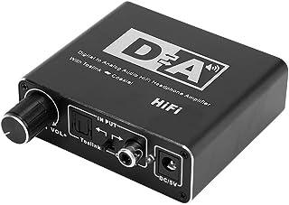 QXQX (UE Audios Adapter110-240v Digital Al Convertidor De Fibra Analógica 5.1 Sonido De Decodificador De Audio