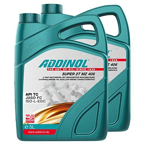 Addinol 2X Motoröl Motorenöl Motor Motoren Motor Oil Engine Oil 2 Takt Super 2T Mz 406 5L 72400981