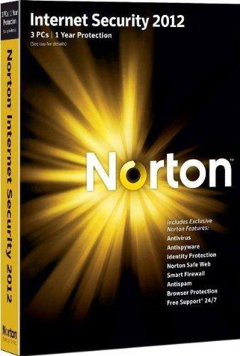 Norton internet security 2012 (3 postes, 1 an) [import anglais]