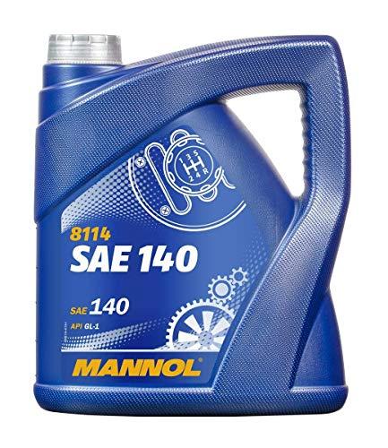 MANNOL 1 x 4 Liter, 8114 SAE 140 GL-1 Getriebeöl