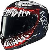 Casque moto HJC RPHA 11 VENOM II MC1, Noir/Rouge, M