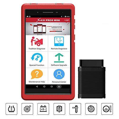 Launch X431 ProsMini Bidirektionale Diagnosegerät volle System Automotive OBD2 Scanner Codeleser IMMO Injector ECU Codierung TPMS ABS Blutung mit WiFi Bluetooth 2 Jahre Kostenloses Update