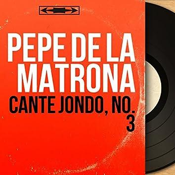 Cante Jondo, No. 3 (Mono Version)