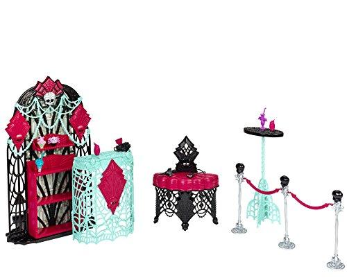 Mattel Monster High BDD91 - Licht aus Grusel an Grusel-Party Garderobe, Zubehör