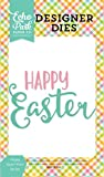 Echo Park Paper Company ce121040Happy Easter Wort sterben Set