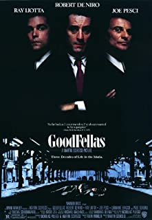 Goodfellas Movie Poster (12 x 18 Inches - 30.5cm x 46cm) (1990) Style A -(Robert De NIRO)(Ray Liotta)(Joe Pesci)(Paul Sorvino)(Lorraine Bracco)(Frank Sivero) Print Frameless Art Gift 30.5 x 46 cm