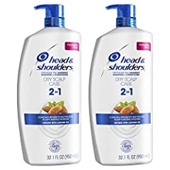 You Will Receive two 32.1 fluid Ounce bottles of 2 in 1 Shampoo & conditioners Head & Shoulders Dry Scalp care anti-dandruff 2 in 1 fights flakes and leaves your scalp clean and hydrated From the scalp care experts; the makers of America's #1 dandruf...