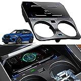 Braveking1 Chargeur sans Fil Voiture pour BMW X5 X6 X5M X6M 2019-2021 Panneau la Console Centrale,...