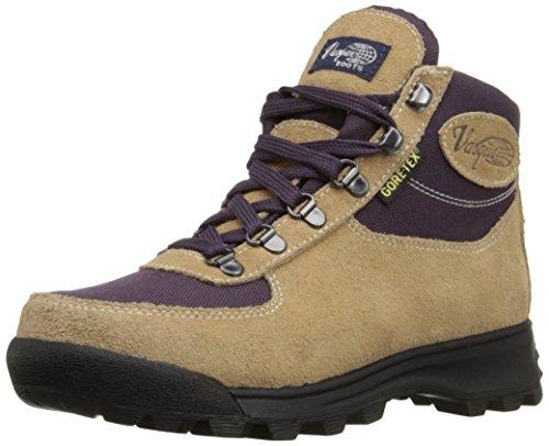Vasque Women's Skywalk Gore-Tex Backpacking Boot, Desert Sand/Plum, 7 M US