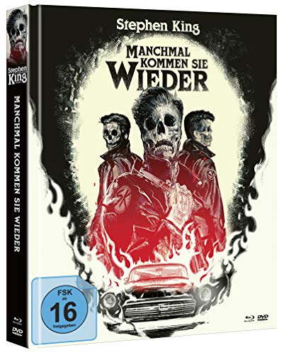 Stephen Kings - Manchmal kommen sie wieder (Mediabook, Blu-ray+DVD) (exklusiv bei Amazon.de) [Limited Collector\'s Edition]