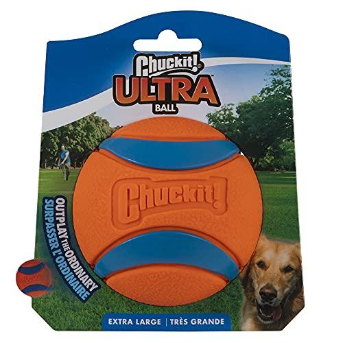 pet supplies balls ChuckIt! Ultra Ball - X-Large, 3.5-Inch, 1-Pack
