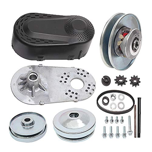 MOOSUN Torque Converter Comet Clutch Go Kart Clutch 1 Inch Replaces Comet TAV2 Manco 10T 40 or 41 and 12T 35 Chain Drive Belt (1' 10T 40/41 and 12T 35 Chain)