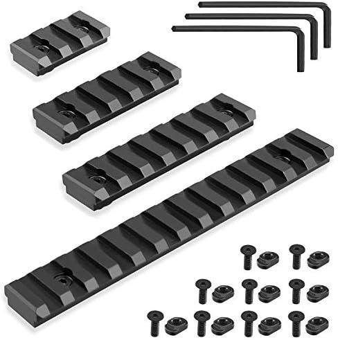 FANGOSS Picatinny Rails Set for Mlock System 3 5 7 13 Slots Aluminum Picatinny Rails Section product image