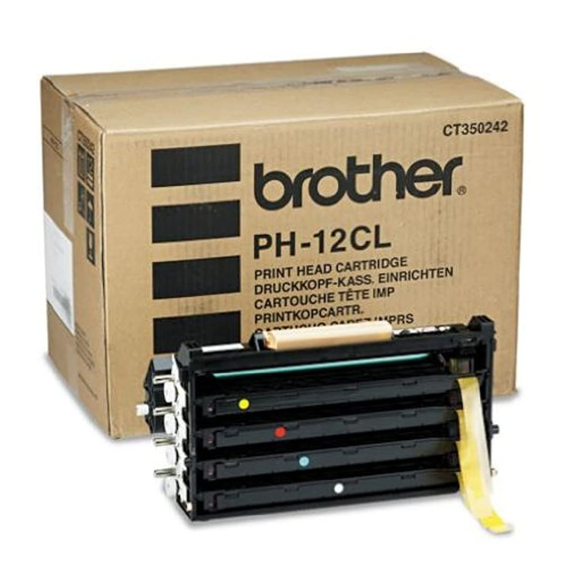 Brother Laser drum kit for color laser printer 4200cn, 30,000 Page Yield (PH12CL) - Retail Packaging