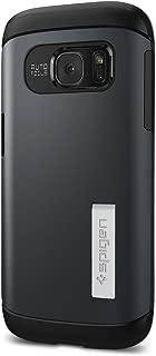 Spigen Slim Armor Designed for Samsung Galaxy S7 Case (2016) - Metal Slate