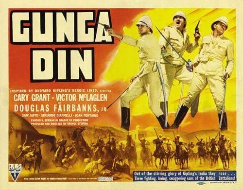 Gunga Din POSTER Movie (22 x 28 Inches - 56cm x 72cm) (1939) (Half Sheet Style A)