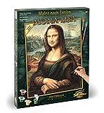 Schipper 609130511 - Malen nach Zahlen - Mona Lisa - Bilder malen für Erwachsene, inklusive Pinsel und Acrylfarben, 40 x 50 cm