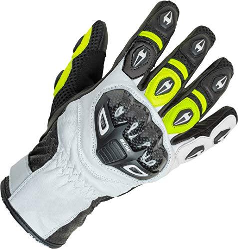 Büse Airway Sport Motorrad Handschuhe 11 (XXL) Schwarz/Weiß/Neon Gelb