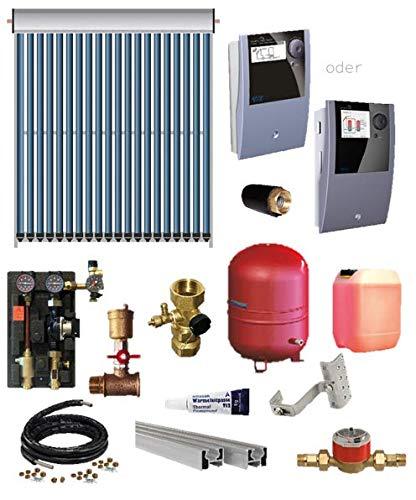 TWL Solar Röhrenkollektoren-Set EtaSunPro® VRK20 3,10-24,80 m²