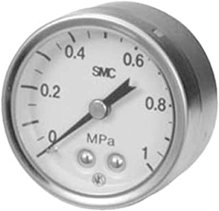 G43-4-01 Analogue Positive Press Gauge Back Side 0.4Mpa; Connection Size R 1/8, Pack of 2