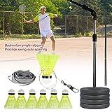 Set per allenatore di badminton, Allenamento per allenamento con attrezzatura solitaria, p...