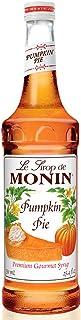 Monin - Pumpkin Pie Syrup, Pumpkin & Baked Pie Crust Flavor, Natural Flavors, Great for Hot, Iced, or Frozen Lattes, Frapp...