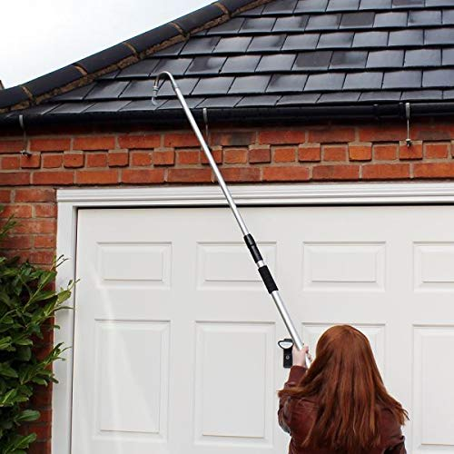 Unibos Telescopic Gutter Cleaner Durable Debris Leaves Cleaning Easy To Use...