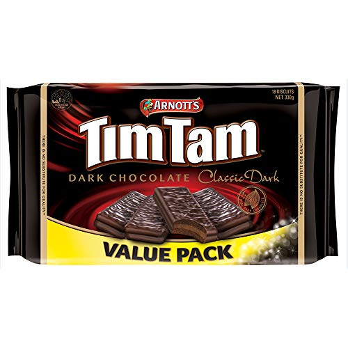 Arnott's Tim Tam Dark Chocolate Value Pack 330g