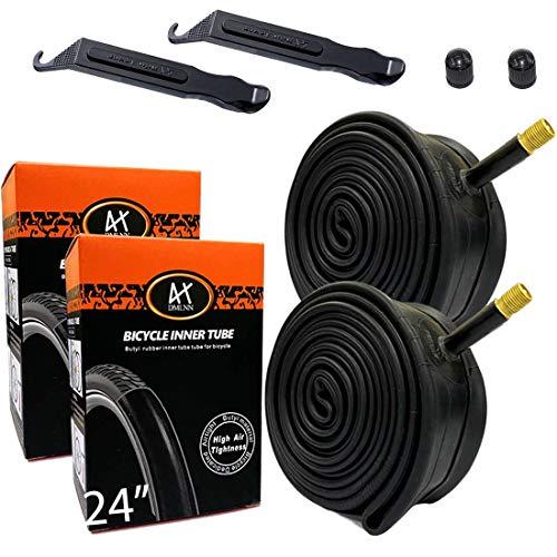 DMLNN 24 Inch Inner Bike Tubes Plus Tire Repair Tool