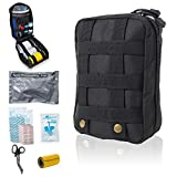 Delta Provision Co. Tactical First Aid Kit - IFAK - Survival Trauma Medical...