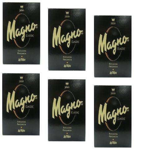 Preisvergleich Produktbild 6x Magno Classic Soap - Seife - Savon 125g (insgesamt - 750g)