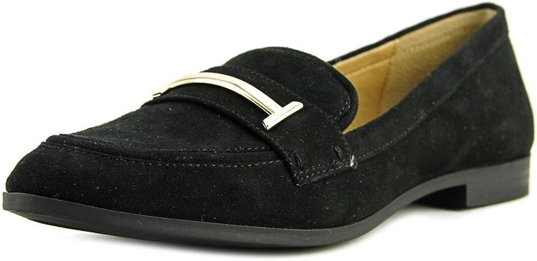 Alfani Womens Ameliaa Leather Closed Toe Loafers