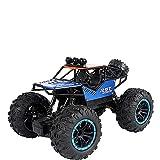 CUIGANGZ 2.4G Radio Off-Road Control Remoto Toy Bigfoot Monster RC Camión RC Juguete del vehículo con Luces Todo Terreno Escalada. RC Regalos de Buggy for niños y niñas, baterías Recargables.